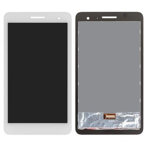 LCD for Huawei MediaPad T1 7.0 3G Tablet, (white, with touchscreen) #TV070WSM-TH0