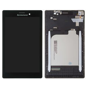 LCD for Lenovo Tab 2 A7-10, Tab 2 A7-20F Tablets, (black, with touchscreen, with frame) #BT0700430150928-C/131741E1V1. 6