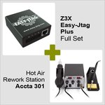 Z3X Easy-Jtag Plus Full Set + Hot Air Rework Station Accta 301 (220 V)