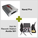 Nand Pro + Hot Air Rework Station Accta 301A (220 V)