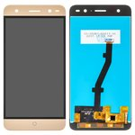 LCD for ZTE Blade V7 Lite Cell Phone, (golden, with touchscreen, Original (PRC))