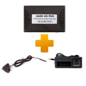 Front View and Rear View Camera Connection Kit for Audi A3