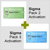 Sigma Pack 2 + Sigma Pack 3 Activations