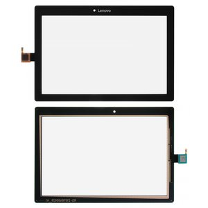 Touchscreen for Lenovo 10 TB-X103F Tablet, (black)