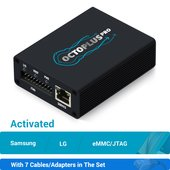 Octoplus Pro Box with 7 in 1 Cable/Adapter Set (Activated for Samsung + LG + eMMC/JTAG)
