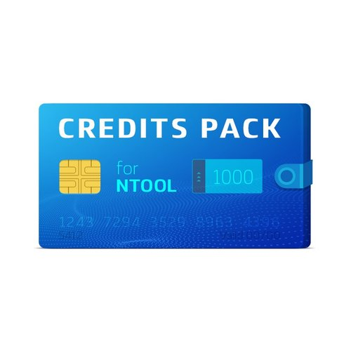 NTool 1000 Credits Pack