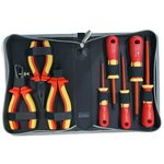 Insulated Screwdriver & Pliers Set Pro'sKit PK-2801