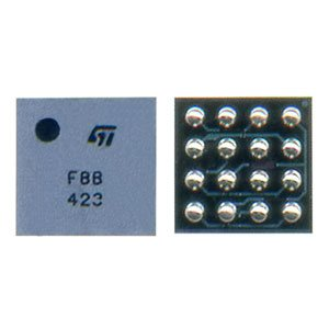 Microphone Amplifier IC R1A TC 16 pin for Ericsson A2618, A2628; Sony Ericsson R520, T230, T290, T610, T630; Siemens C62 Cell Phones