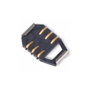 SIM Card Connector for Sony Ericsson K300, K500, K700, K750, W800, Z520 Cell Phones