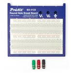 Round Hole Bread Board Pro'sKit BX-4123 (1580 Tie Points)