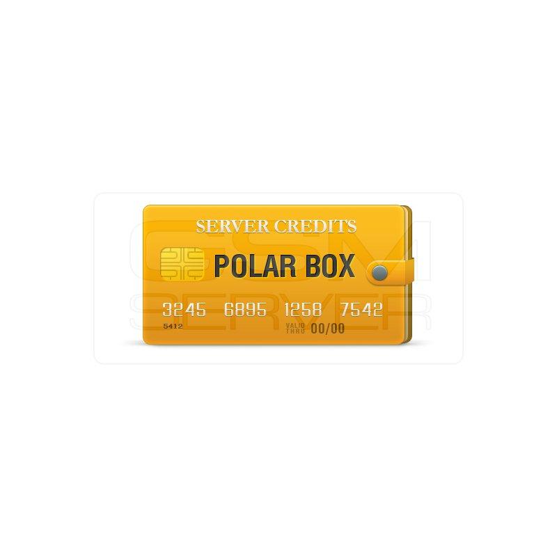 Cr�ditos del servidor Polar Box - GsmServer