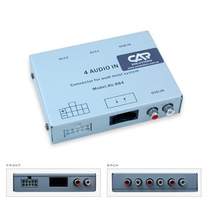 Interface de audio MOST para Audi Q7 / A8 / A6