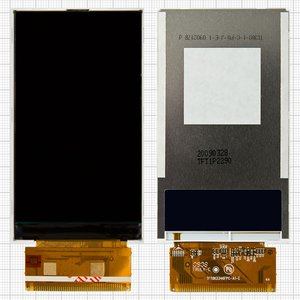 Pantalla LCD para celulares China-iPhone 4, 4s; China-Nokia N8; China-Sony Ericsson X10, 44 pin, (92*52), #TFT8K2346FPC-A1-E/TFT1P2290