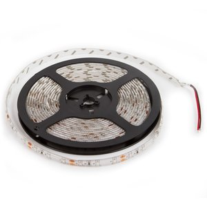 Tira de luces LED SMD3528 (color rojo, 300 diodos LED, 12 V DC, 5 m, IP65)