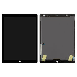 Pantalla LCD para tablet PC Apple iPad Pro 12.9, negro, con cristal táctil