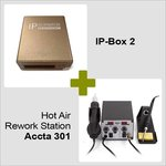 IP-Box 2 + Термовоздушная паяльная станция Accta 301 (220В)