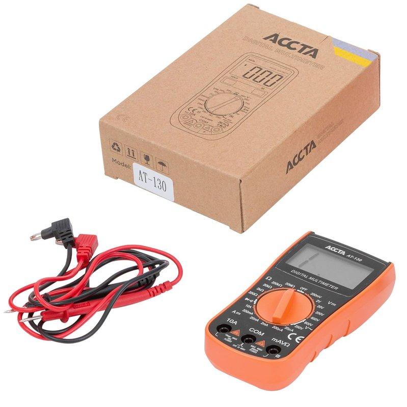 Цифровий мультиметр Accta AT-130 Зображення 1