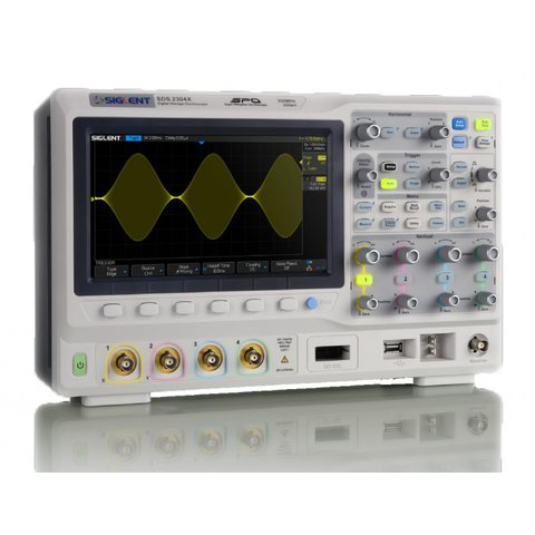 Фосфорний цифровий осцилограф SIGLENT SDS2304X