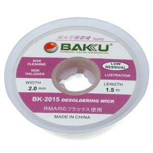 Лента-оплетка BAKU BK 2015, (Ш) 2,0 мм, (Д) 1,5 м