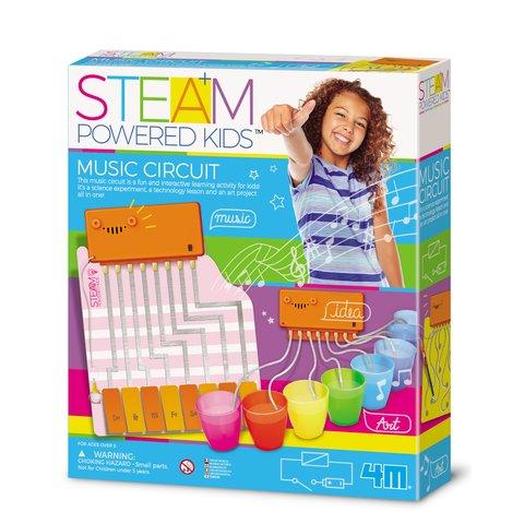 STEAM-набір для дівчаток 4М Магічне музичне коло