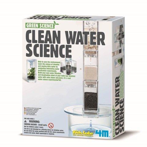 STEAM-конструктор 4M Система фильтрации воды