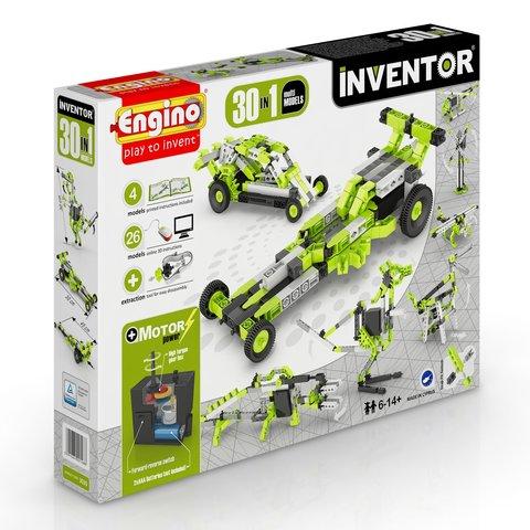 Конструктор Engino Inventor 30 в 1 с электродвигателем