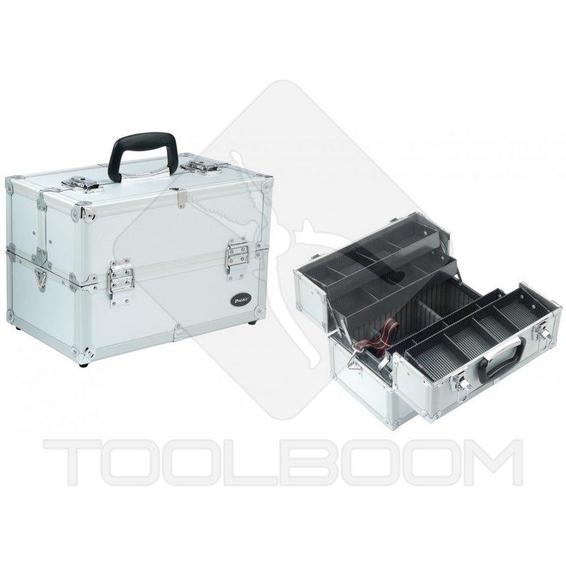 Caja de herramientas plegable pro 39 skit tc 760n con el - Maletines con herramientas ...