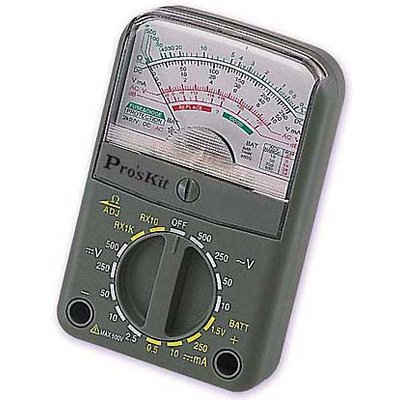 Pro'sKit 3PK-168N Compact Analogue Multimeter
