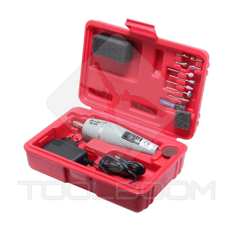 Mini taladro con adaptador y juego de brocas puntas pro - Mini herramientas electricas ...