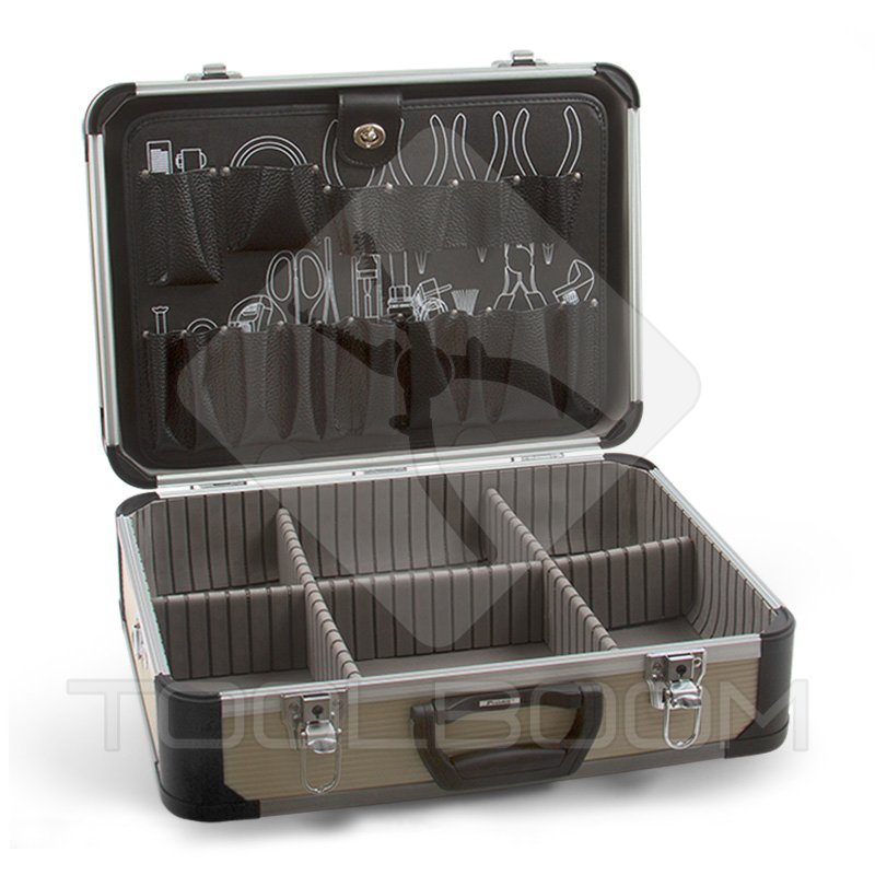 Malet n de aluminio para herramientas pro 39 skit tc 747n - Maletines con herramientas ...