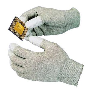 Goot WG-4S Anti-Static Gloves with polyurethane resin coating on the palm and fingertip