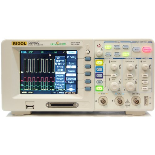 Mixed Signal Oscilloscope Rigol DS1052D