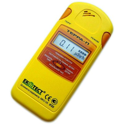 Radiation Detector EcoTest TERRA-P MKS-05