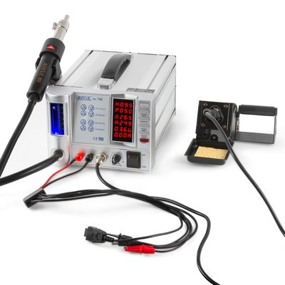 Hot Air Soldering Station AOYUE 768 + Soldering Iron + Power Supply (110V)