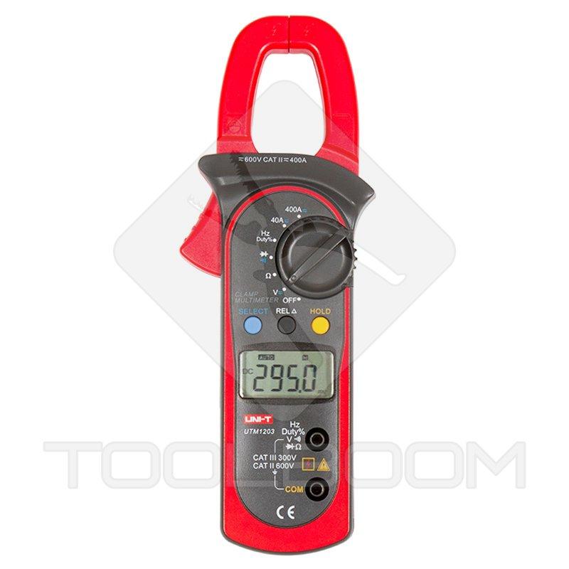 Uni T Multimeter Digital : Digital clamp meter uni t ut ac dc meters