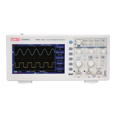 Dual Channel Digital Oscilloscope UNI-T UTD2052CL