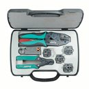 Buy Online Coaxial Cable Crimping Tool Kit Pro'sKit 6PK-330K