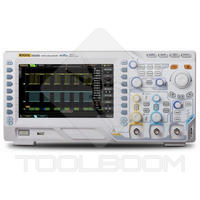 Digital Analog Oscilloscopes : Digital oscilloscope rigol ds oscilloscopes