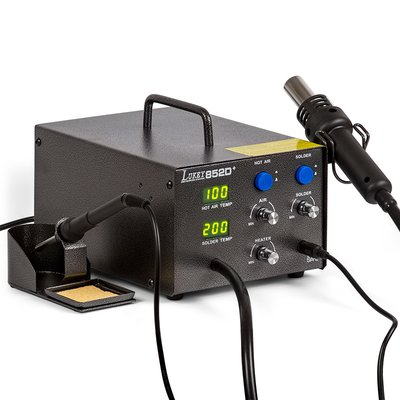 Hot Air Soldering Station Lukey 852D+ with Soldering Iron