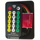 Buy Online LED Controller with IR Remote Control HTL-028 (RGB, 5050, 3528, 144 W)