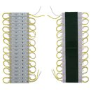 Buy Online LED Strip Module 20 pcs. SMD 5050 (3 LEDs, yellow, adhesive, 1200 lm, 12 V, IP65)