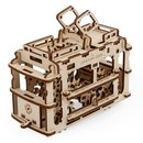 Buy Online Mechanical 3D Puzzle UGEARS Tram