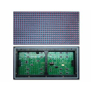 Outdoor LED Module P10-Blue (320 × 160 mm, 32 × 16 dots, IP65, 2000 nt)
