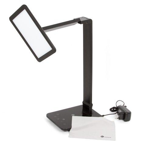 Dimmable rotatable shadeless led desk lamp taotronics tt dl09 black us