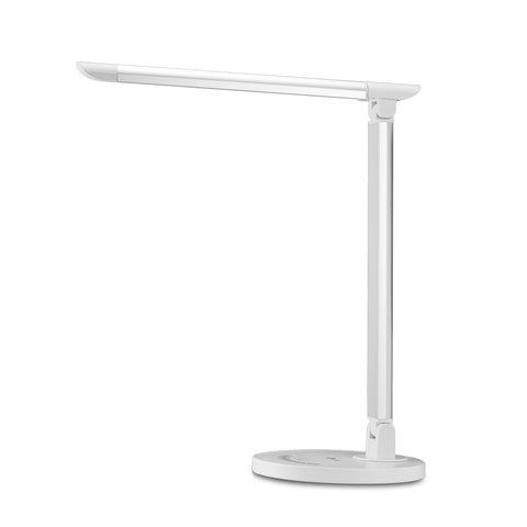 Dimmable Rotatable Shadeless Led Desk Lamp Taotronics Tt Dl13 White Eu