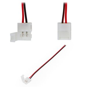 Cable con conector de 2 pines para tiras de luces LED SMD3528/2835