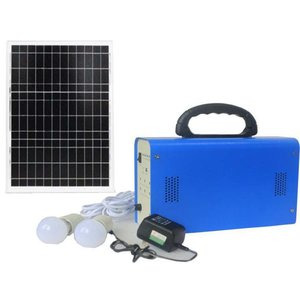 DC Portable Solar Power System, 20 W, 12 V / 12 Ah, Poly 18 V / 20 W