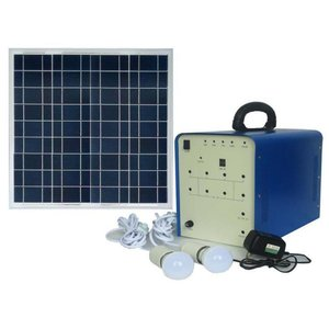 DC Portable Solar Power System, 50 W, 12 V / 24 Ah, Poly 18 V / 50 W