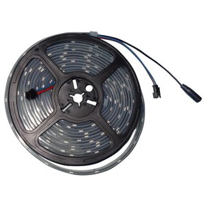 RGB LED Strip SMD5050, WS2813 (with controls, black, IP67, 5 V, 30 LEDs/m, 5 m)
