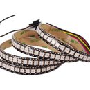 Buy Online RGB LED Strip SMD5050, WS2813 (with controls, black, IP65, 5 V, 144 LEDs/m, 5 m)
